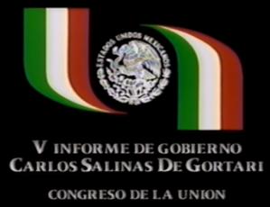 Presidencia de la República Logo Carlos Salinas de Gortari