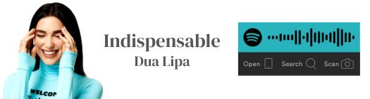 Dua Lipa La Litera Indispensable Playlist Playlists Spotify